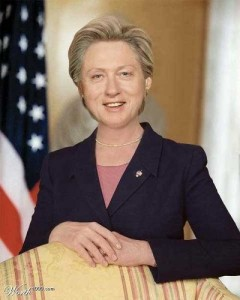 Bill as Hillary