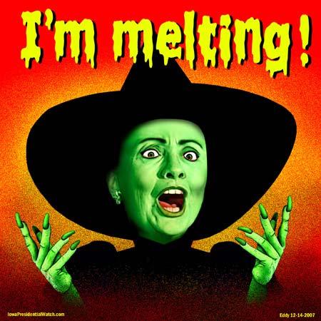 Hillary I'm melting