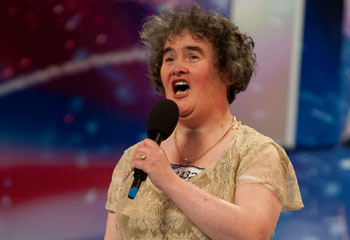 Susan Boyle, Singing Sensation