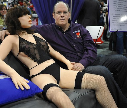 """It's here: Roxxxy, the world's """"first"""" ever sex robot. Not just a doll, ..."""